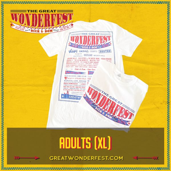 ADULTS XL WHT